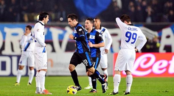 Prediksi  Skor Pertandingan Atalanta Vs Inter Milan   30 Oktober 2013