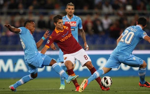 Prediksi Skor Pertandingan Roma Vs SSC Napoli  19 Oktober 2013