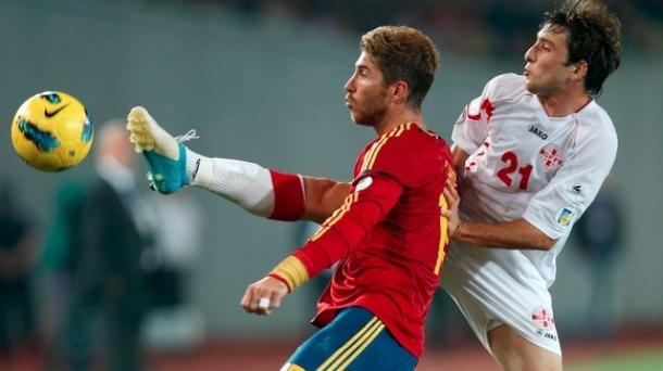 Prediksi Skor Pertandingan Spain VS Georgia 16 Oktober 2013