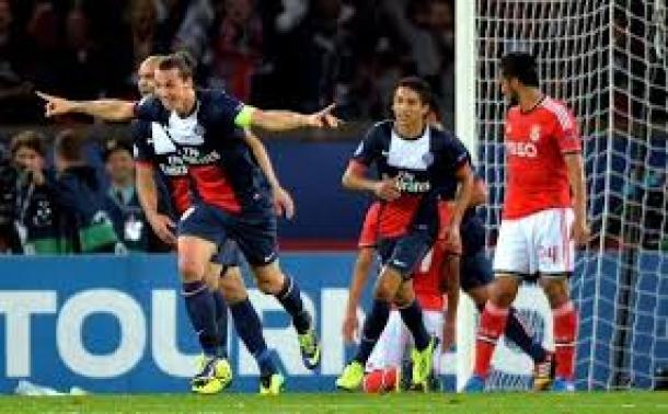 Prediksi Skor Pertandingan Benfica Vs Paris Saint Germain 11 Desember 2013