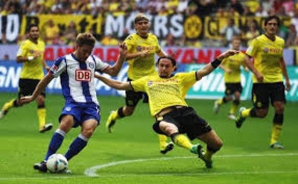 Prediksi Skor Pertandingan Borussia Dortmund Vs Hertha Berlin 21 Desember 2013