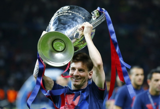 Messi Sosok Penyelamat Untuk Barca