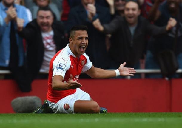 Sanchez Kembali Bermain Apik