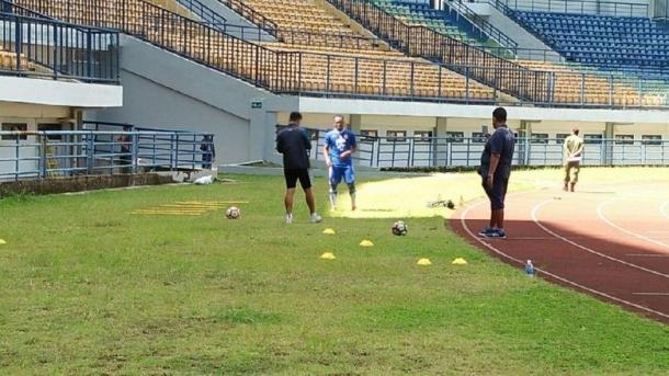 Essien Kini Mulai Jalani Latihan Bersama Persib