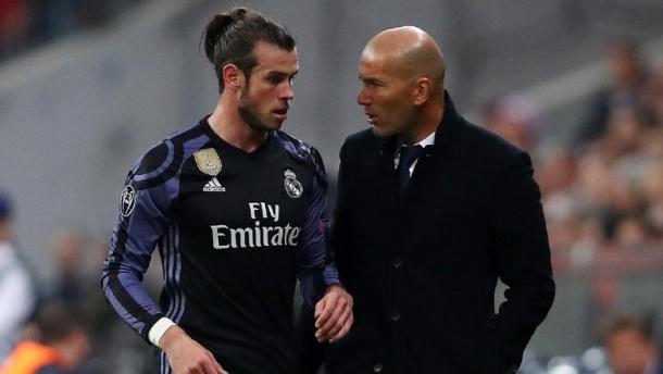 Zidane Menegaskan Bale Masih Kerasan Di Madrid