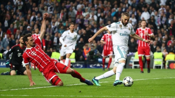 Madrid Dapatkan Hadiah Gol Dari Bayern