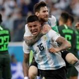 Messi Berikan Pesan Kepada Rojo Sebelum Mencetak Gol