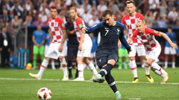 Griezmann Sempat Berfikiran Meniru Penalti Dari Zidane