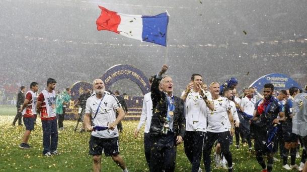 Prancis Kini Sejajar Dengan Uruguay Dan Argentina