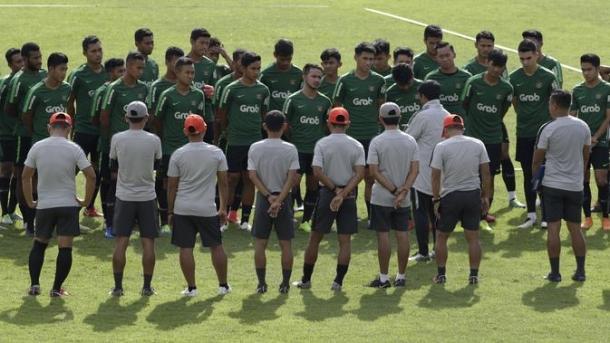 Fokus Fisik Pemain Menjadi Menu Latihan Pertama Timnas U-22