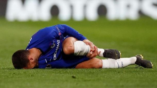 Hazard Cedera Namun Chelsea Mencatatkan Rekor Baru